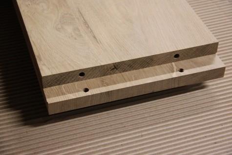 comment r aliser un assemblage en bois par tourillons la fabrique bois. Black Bedroom Furniture Sets. Home Design Ideas