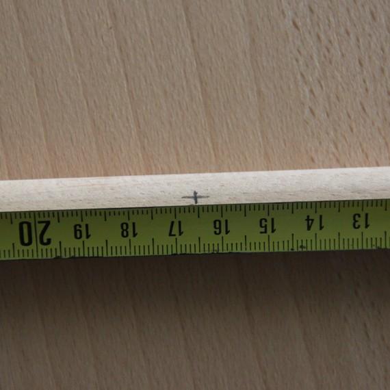 Marquage à 16,5cm