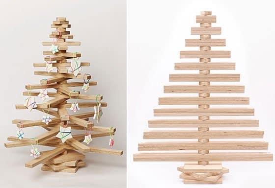 Mon beau sapin diy en bois la fabrique bois - Sapin de noel en bois ...