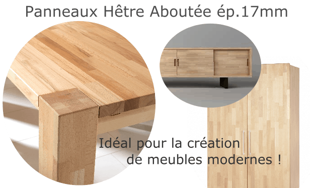 Hêtre Abouté - La Fabrique a Bois