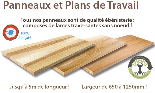 Panneaux et Plans de Travail - La Fabrique a Bois