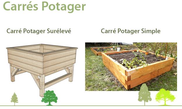Carré Potager - La Fabrique a Bois